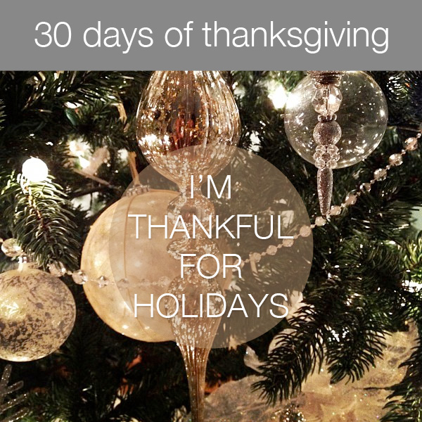 30daysthanks22 30 Days of Thanksgiving   Day 22: Holidays