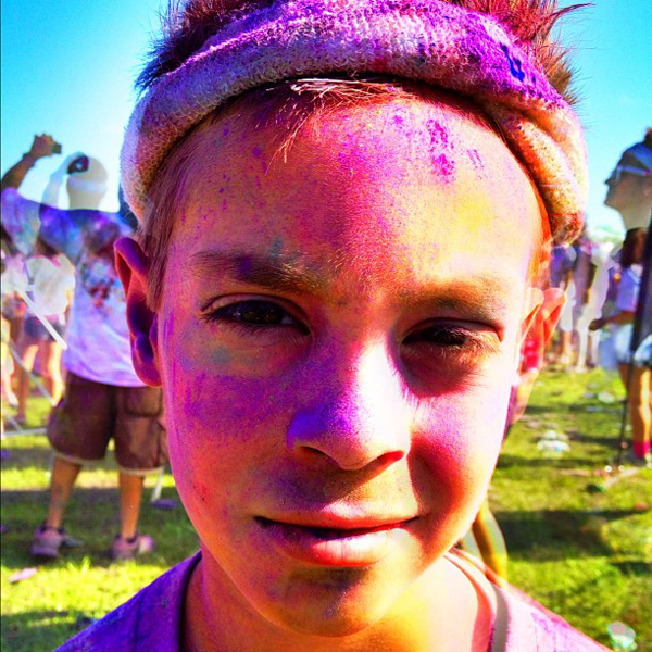 aidanclose The Color Run
